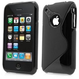 S Line silikon skal iPhone 3