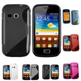 S Line silikon skal Galaxy Mini 2
