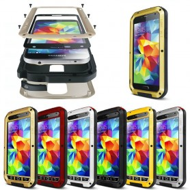 LOVE MEI Powerful Samsung Galaxy S5 metall mobilskal