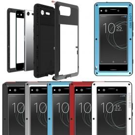 LOVE MEI Powerful skal Sony Xperia XZ Premium G8141 mobilskal metall