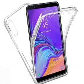 360 heltäckande silikon skal Samsung Galaxy A7 2018 (SM-A750F)