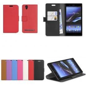 Sony Xperia T2 Ultra (D5503) Mobilskal plånbok fodral skydd