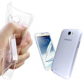 Galaxy Note 2 silikon skal transparent