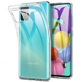 Silikon skal transparent Samsung Galaxy A71 (SM-A705F)