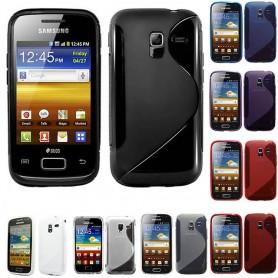 S Line silikon skal Galaxy Ace 2